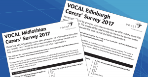 Take part in the VOCAL Carers Survey 2017