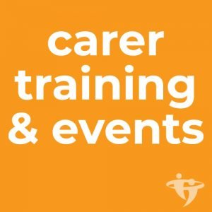 Free workshops, training & events for carers